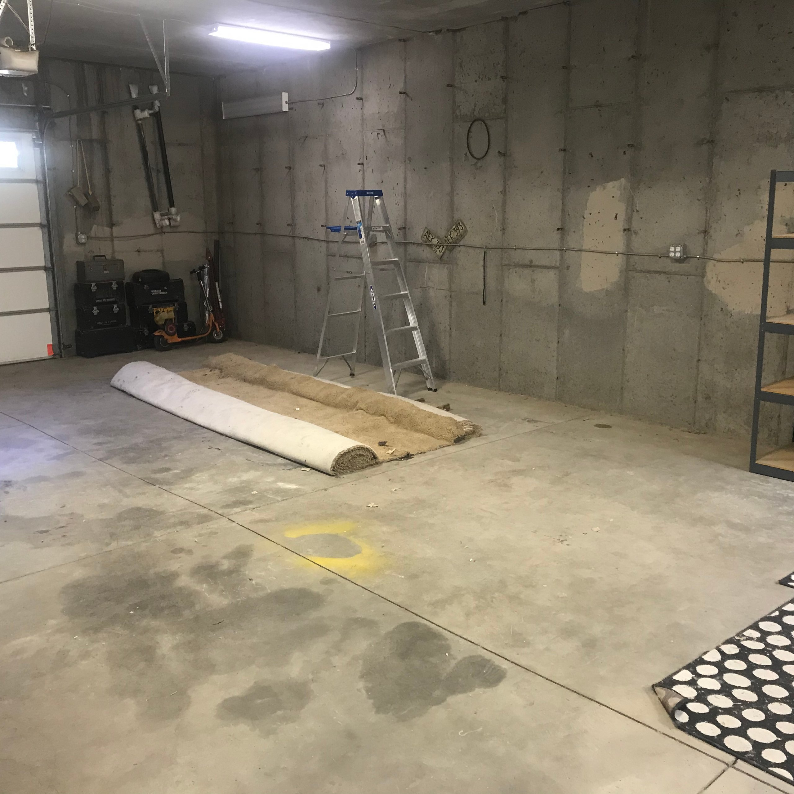 36x17 Garage self storage unit