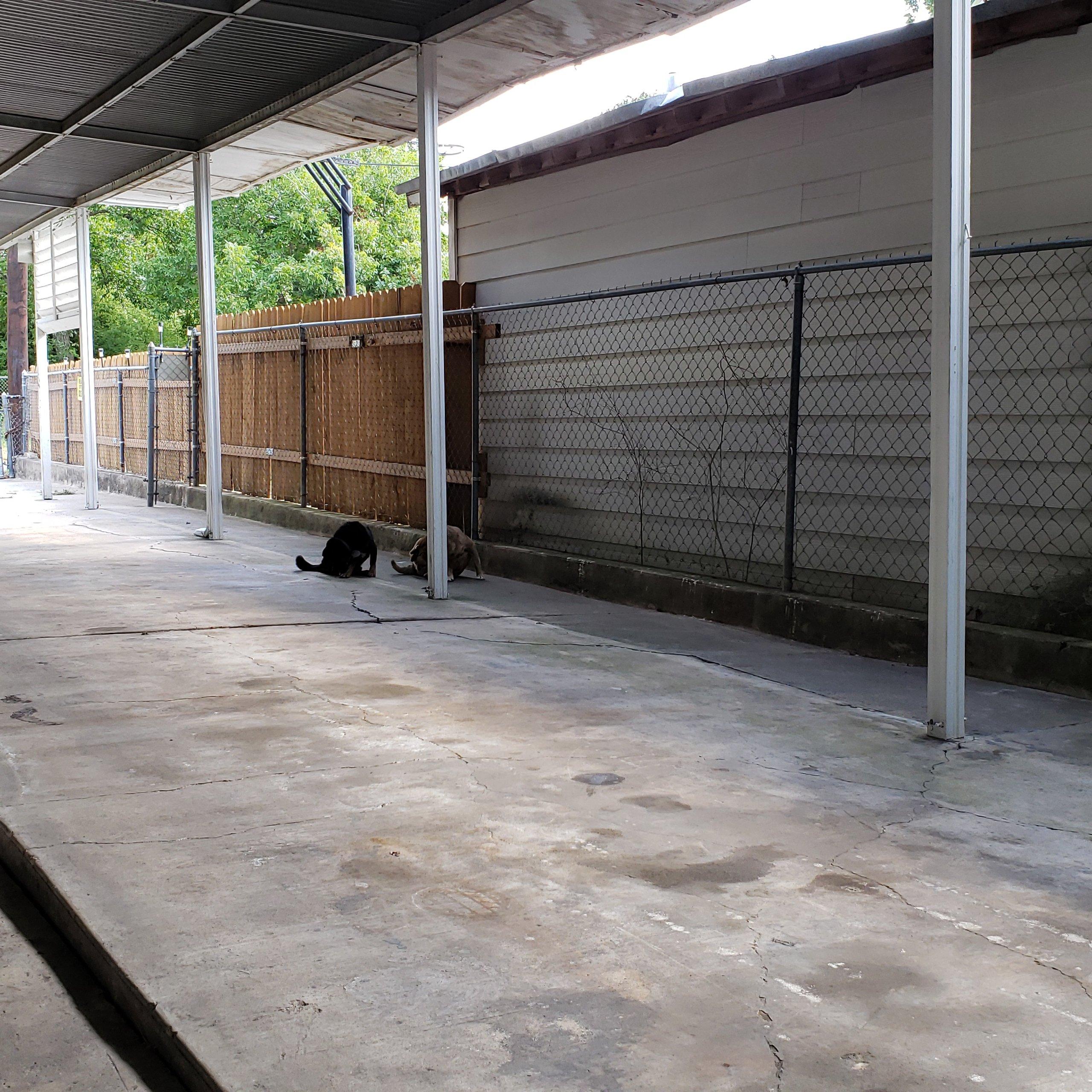 25x10 Driveway self storage unit