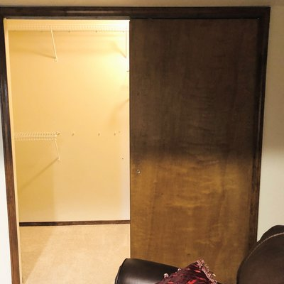 10x4 Closet self storage unit