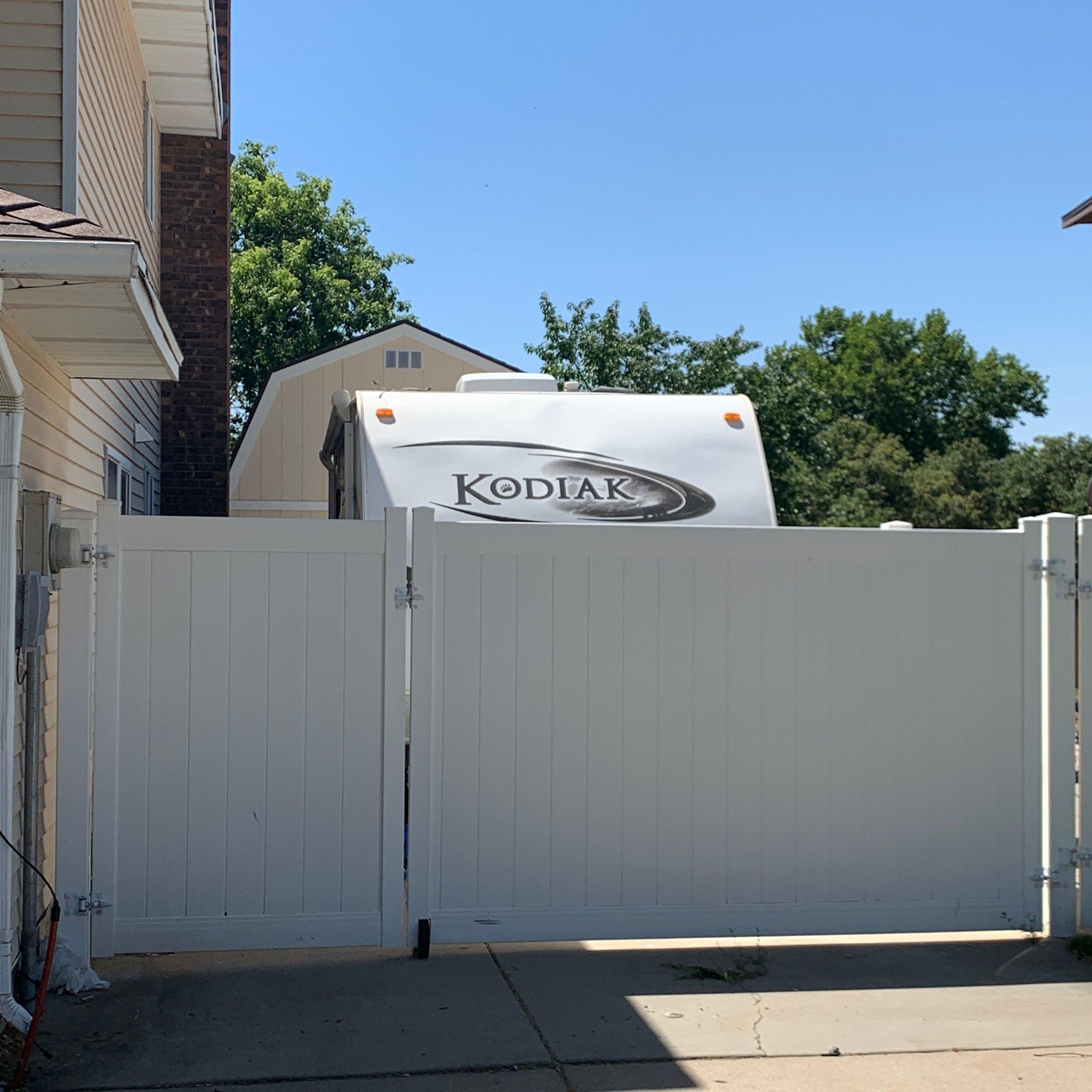 35x14 Driveway self storage unit