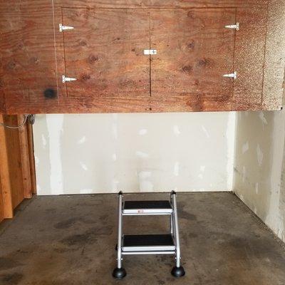 8x4 Closet self storage unit