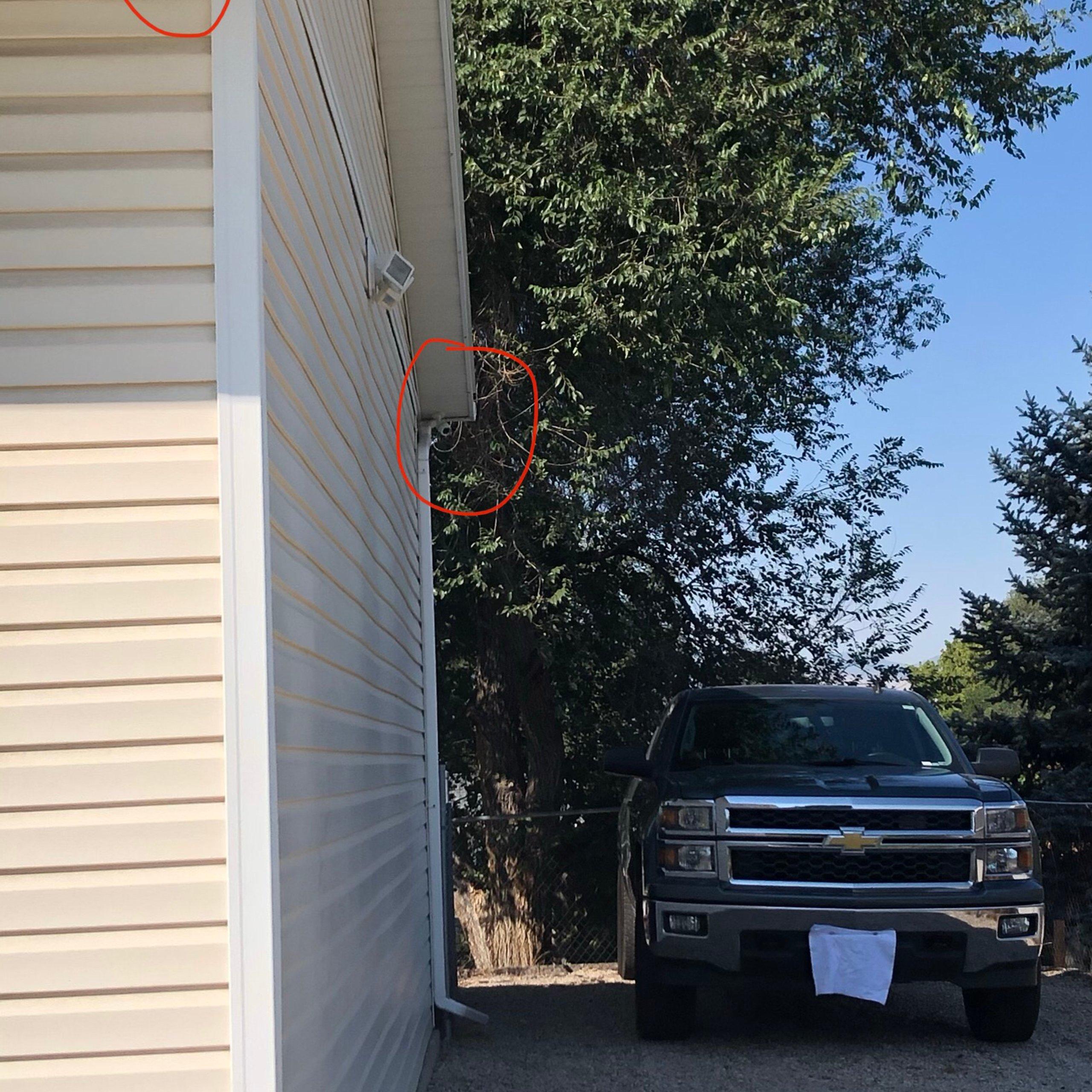 20x14 Driveway self storage unit