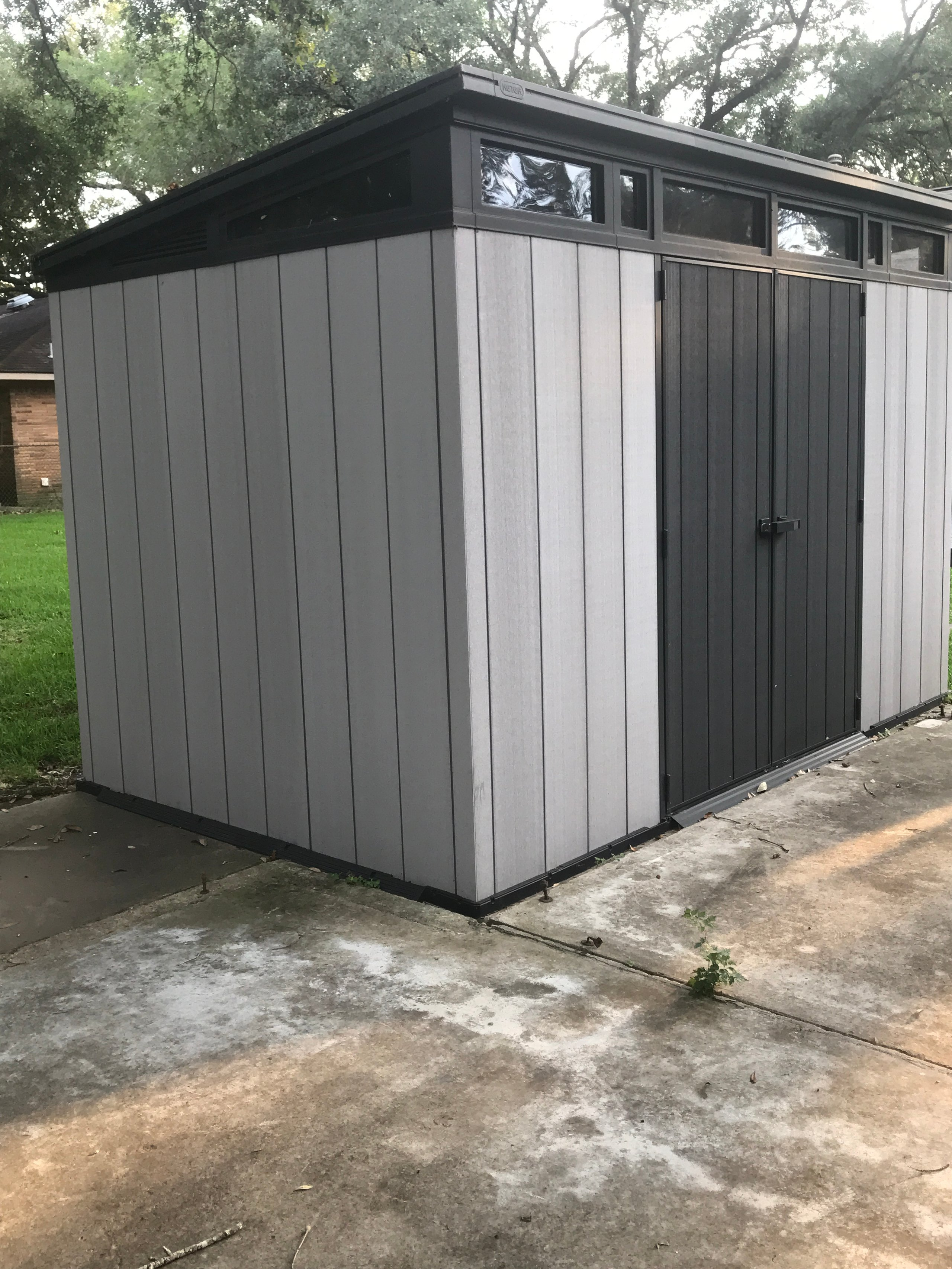 11x6 Shed self storage unit