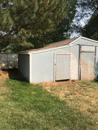 15x10 Shed self storage unit