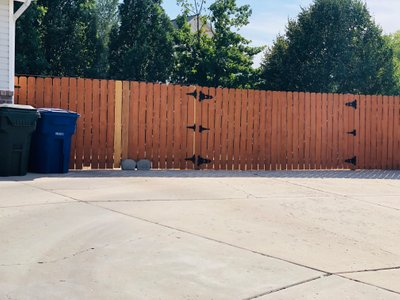 12x28 Unpaved Lot self storage unit