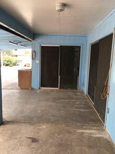 18x8 Carport self storage unit
