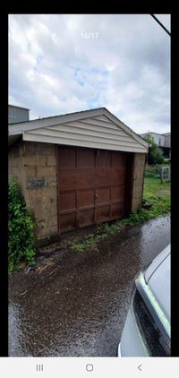 21x10 Garage self storage unit