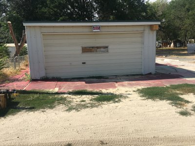 40x22 Garage self storage unit