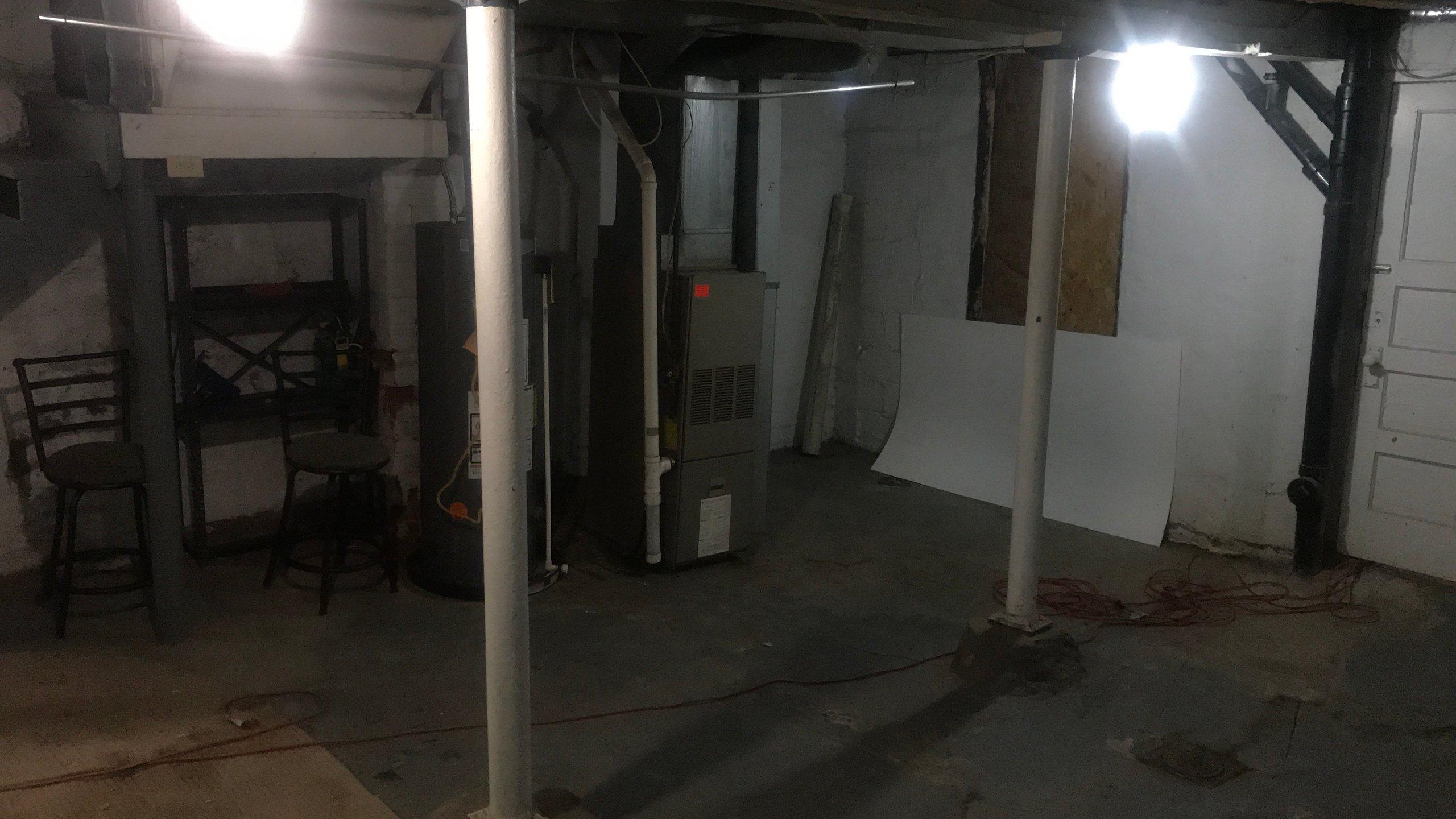 26x21 Basement self storage unit