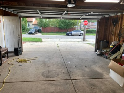 24x30 Garage self storage unit