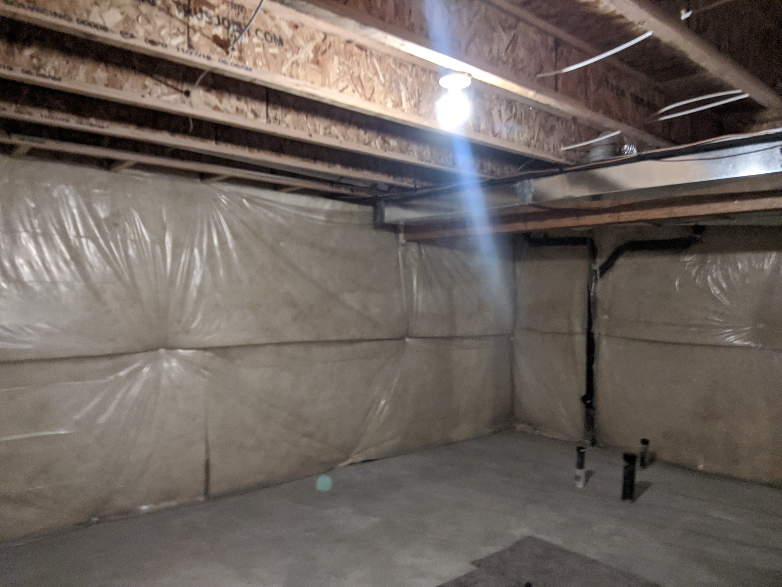20x17 Basement self storage unit