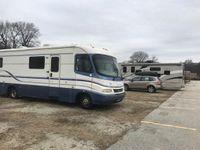 35x12 Parking Lot self storage unit
