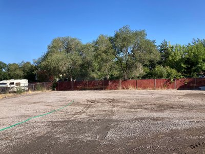 50x20 Unpaved Lot self storage unit