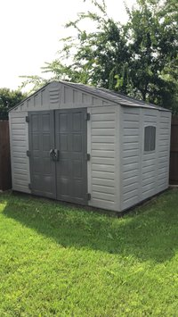 8x8 Shed self storage unit