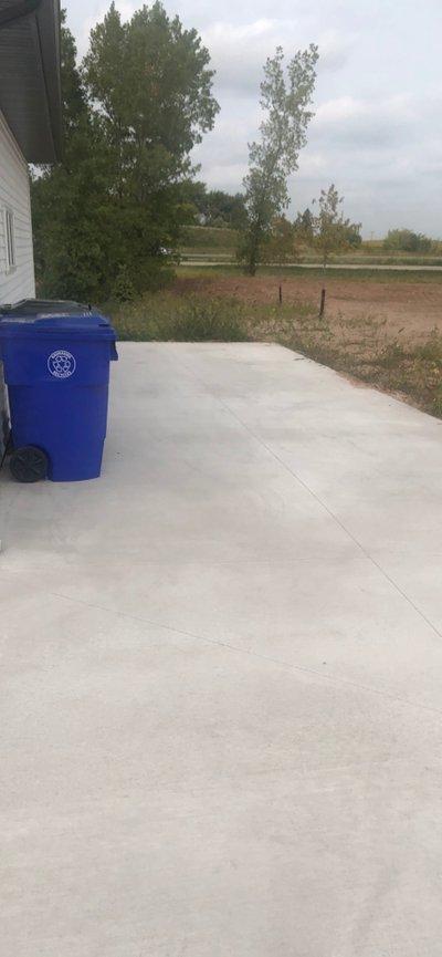 36x14 Driveway self storage unit