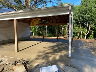 25x50 Carport self storage unit