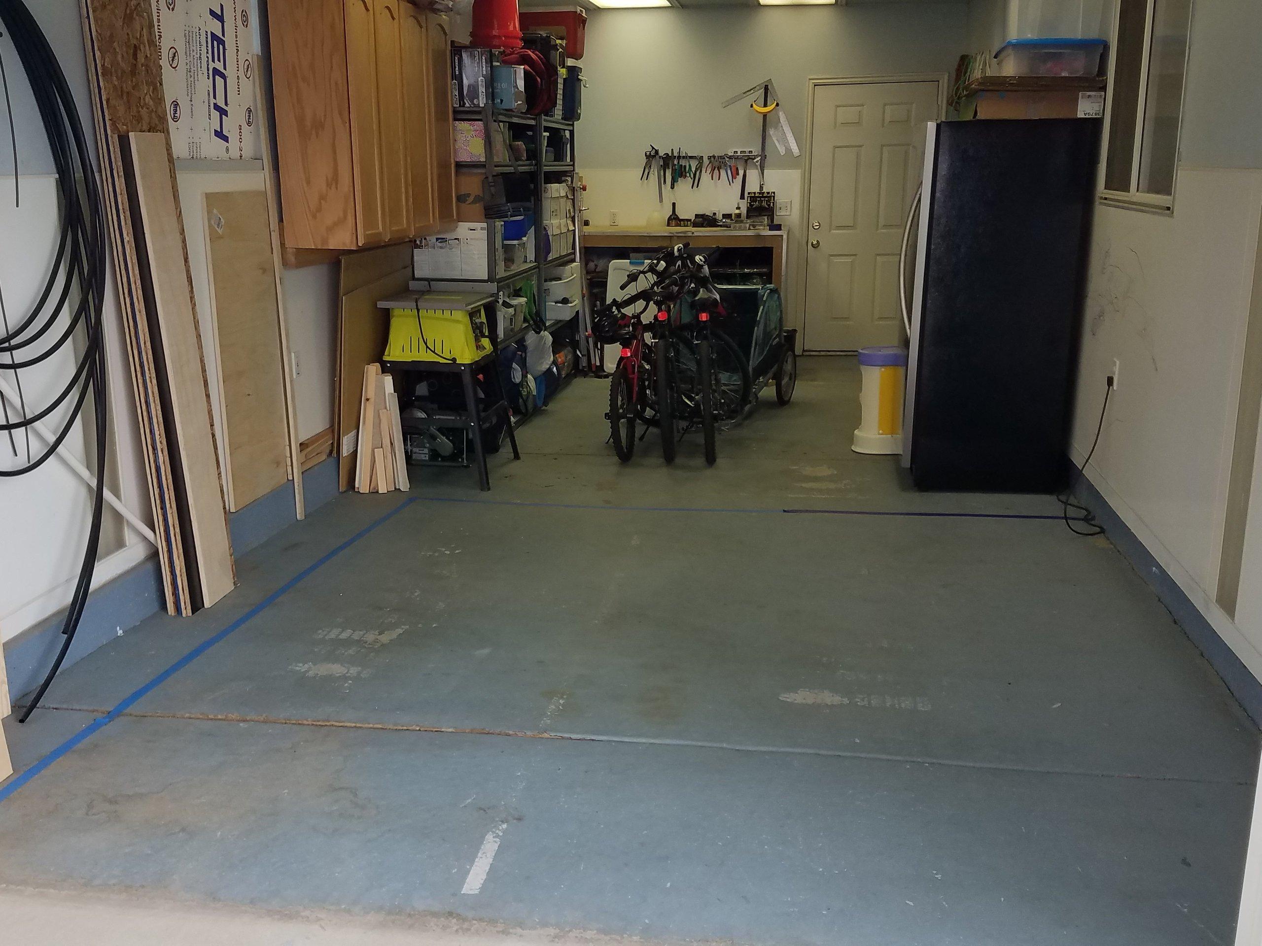 11x10 Garage self storage unit