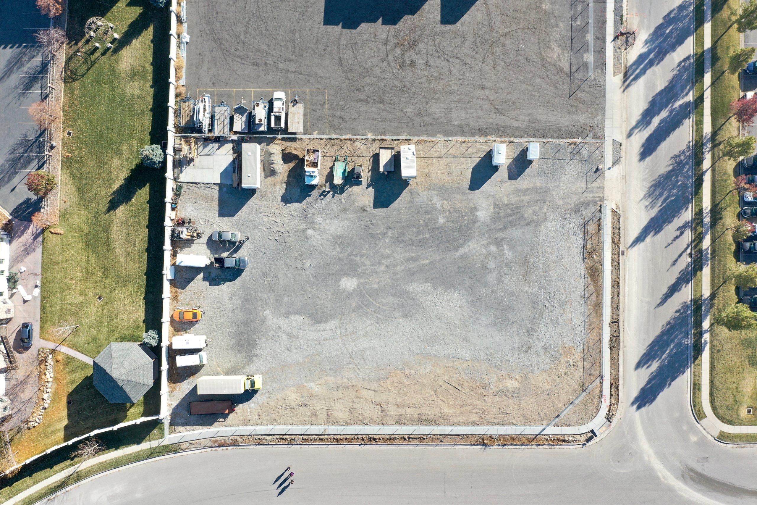 75x45 Unpaved Lot self storage unit