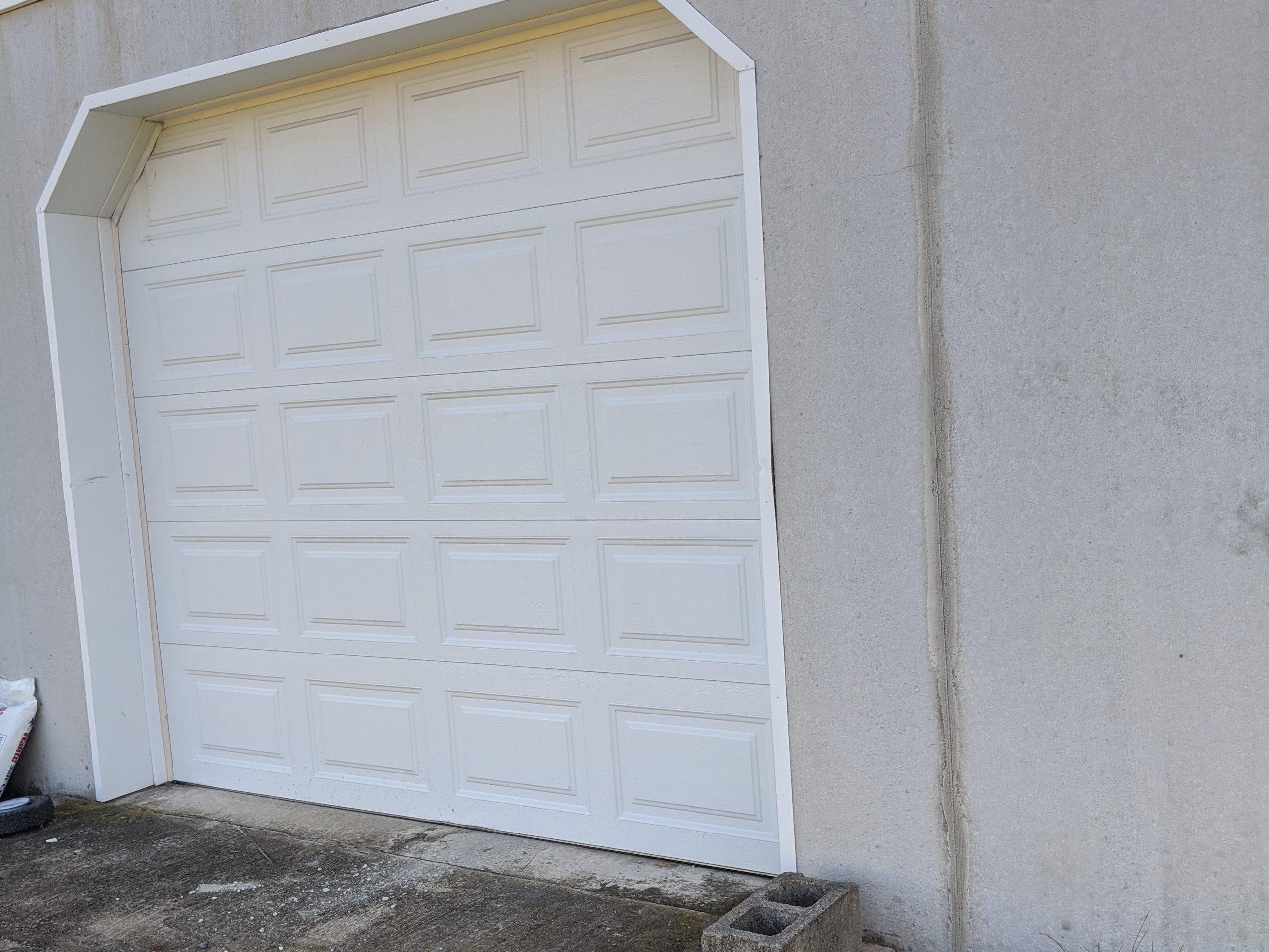 50x10 Garage self storage unit