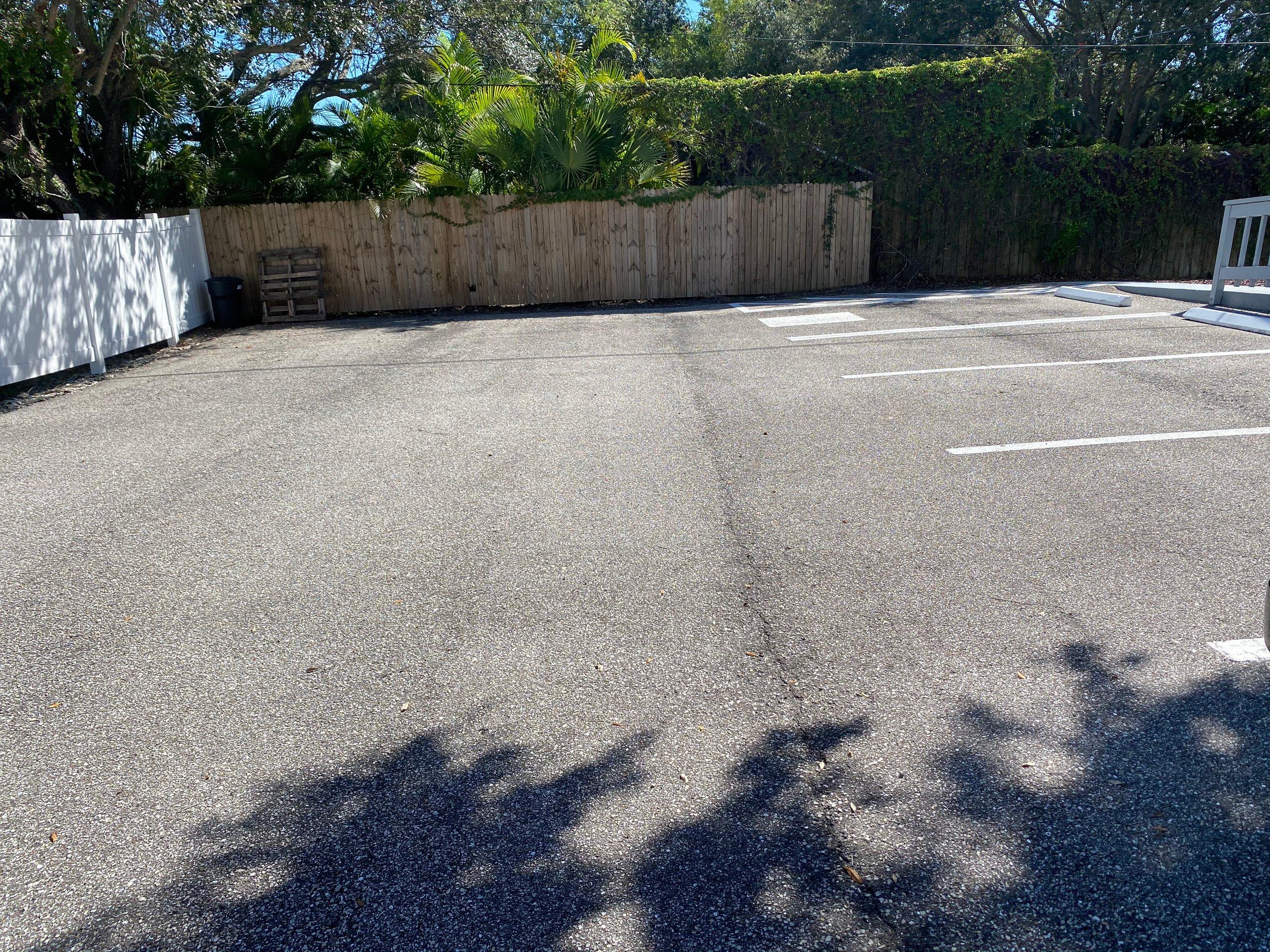 18x10 Parking Lot self storage unit