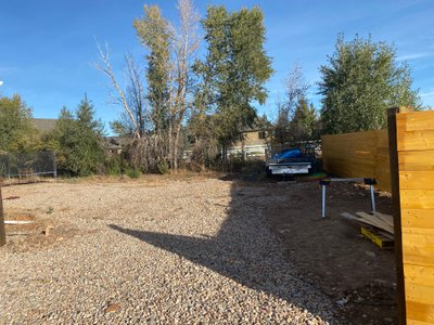 20x60 Unpaved Lot self storage unit