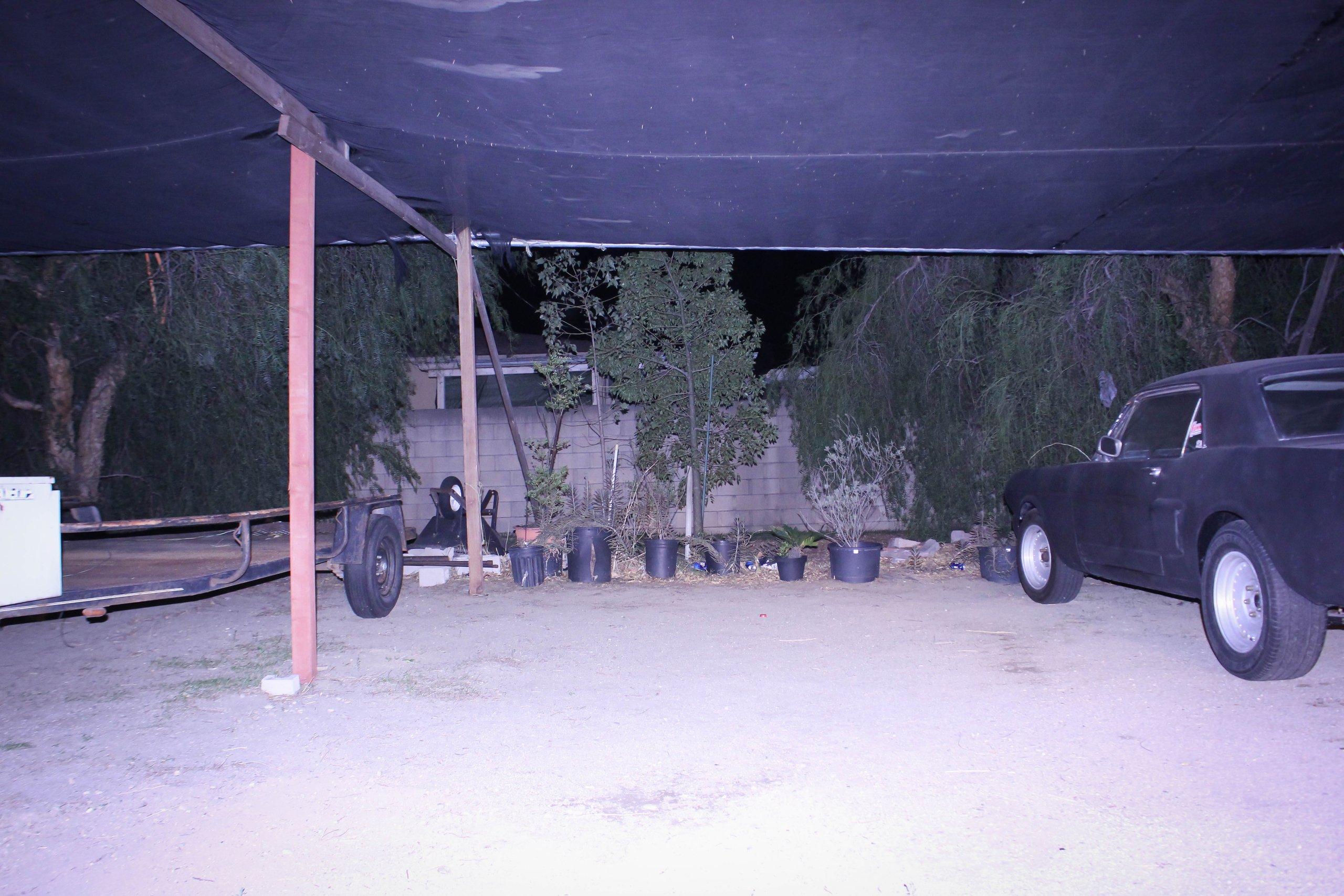 24x20 Carport self storage unit