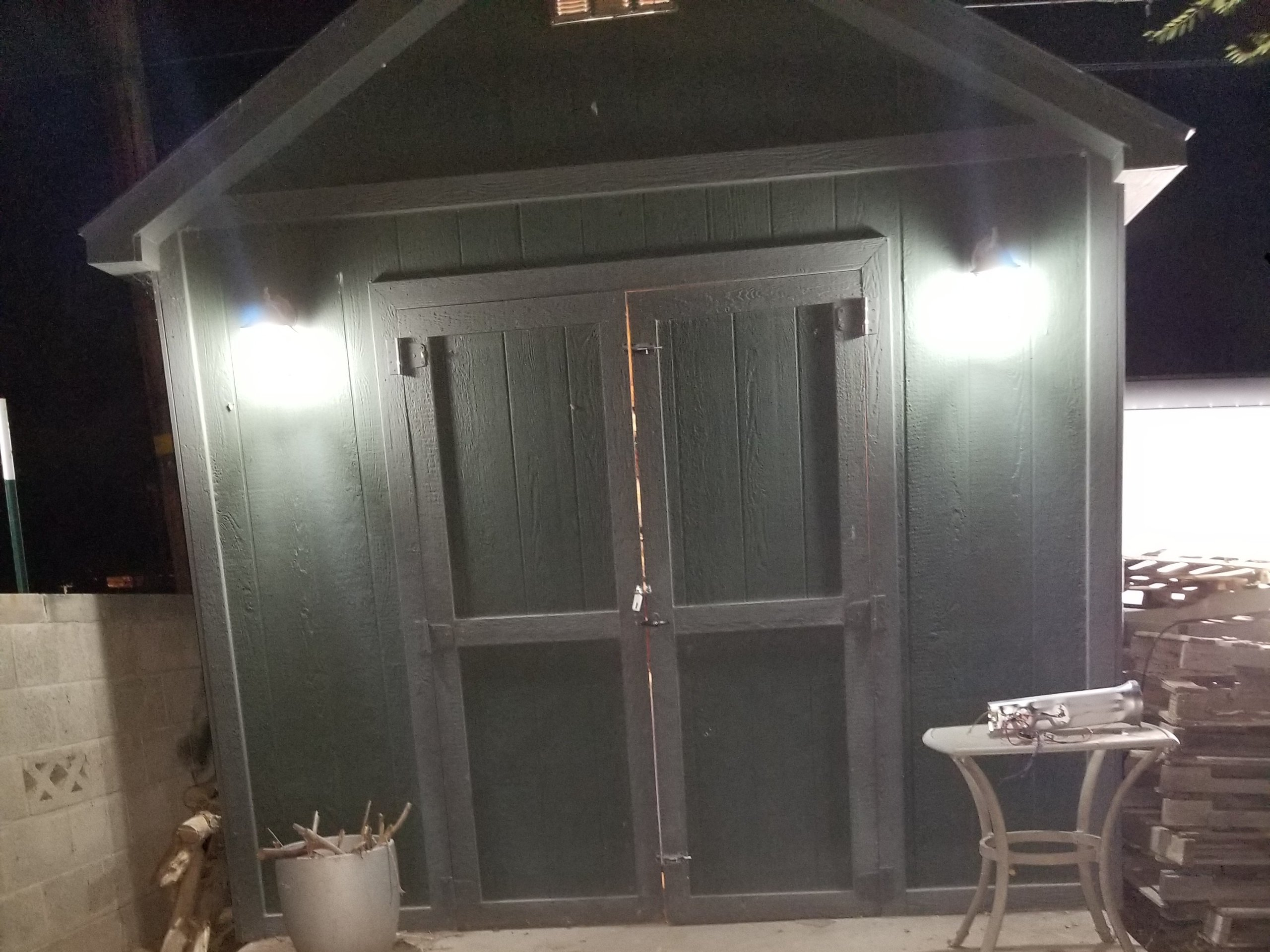 9x5 Shed self storage unit