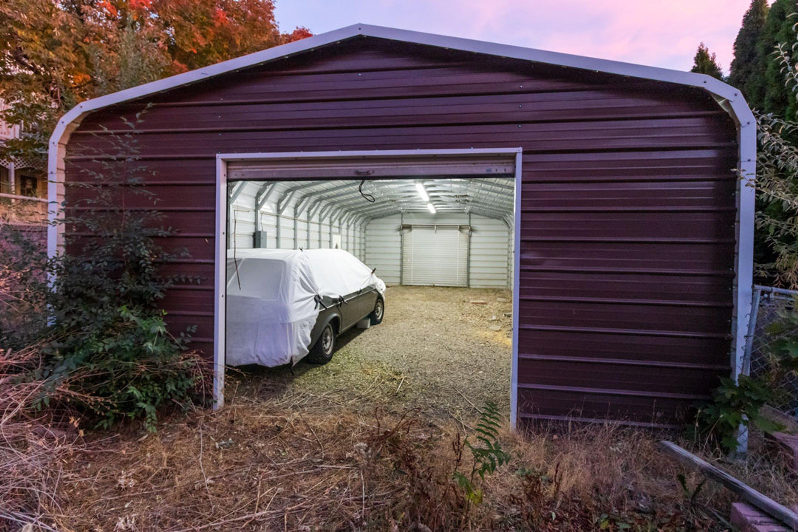 20x10 Shed self storage unit