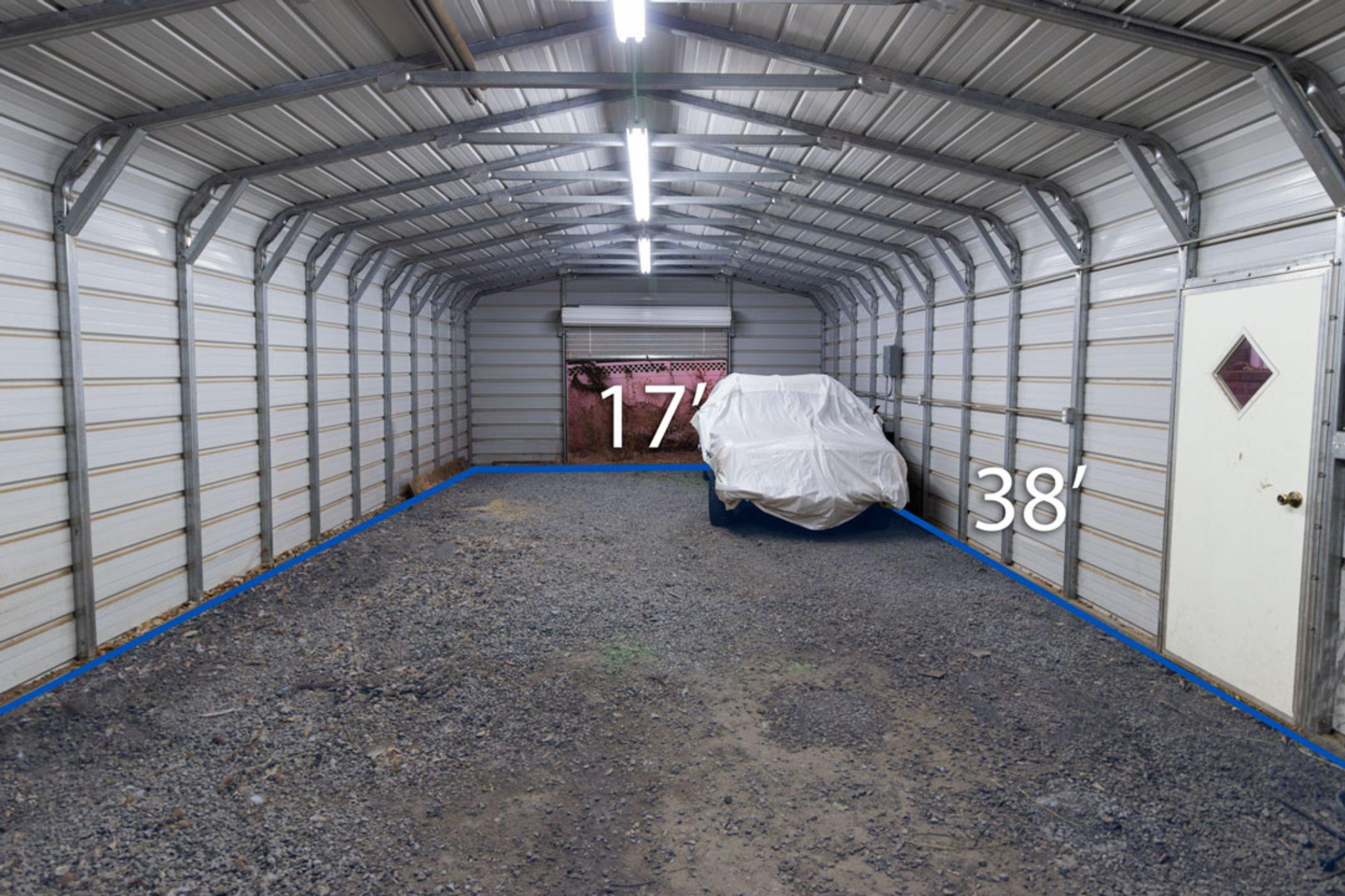 15x10 Shed self storage unit