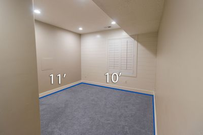 10x11 Basement self storage unit