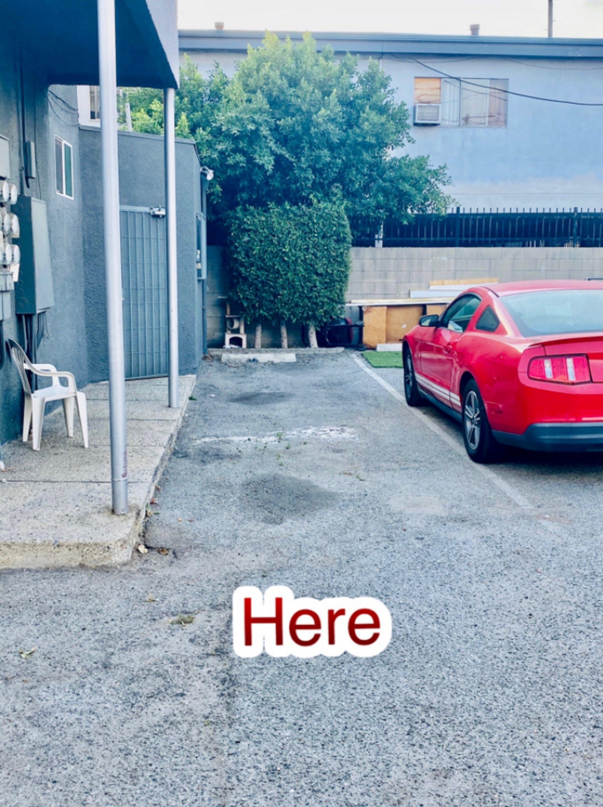 35x10 Parking Lot self storage unit
