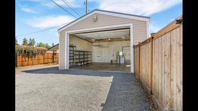 22x12 Garage self storage unit