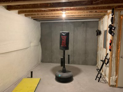 7x10 Basement self storage unit