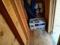 7x4 Shed self storage unit