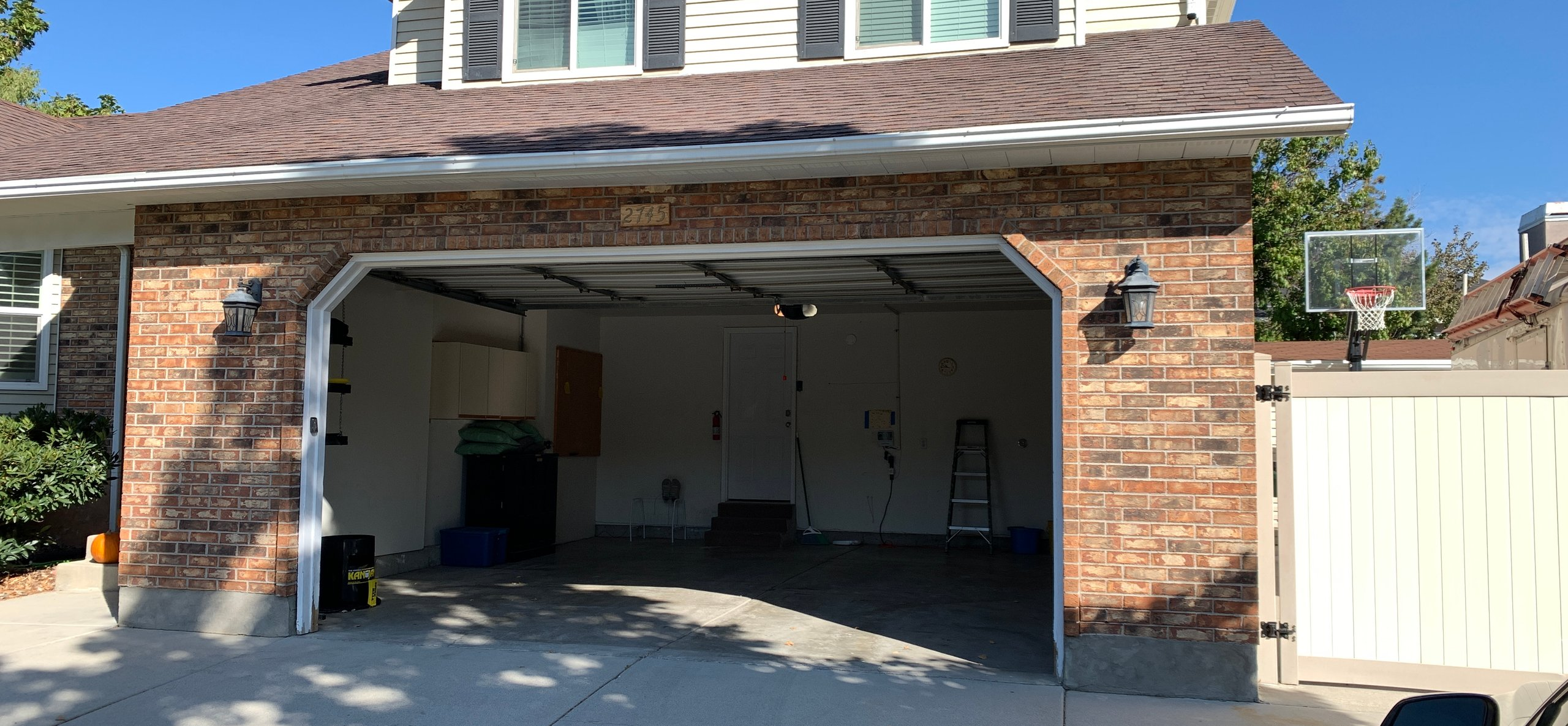 18x18 Garage self storage unit
