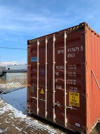 28x8 Shipping Container self storage unit