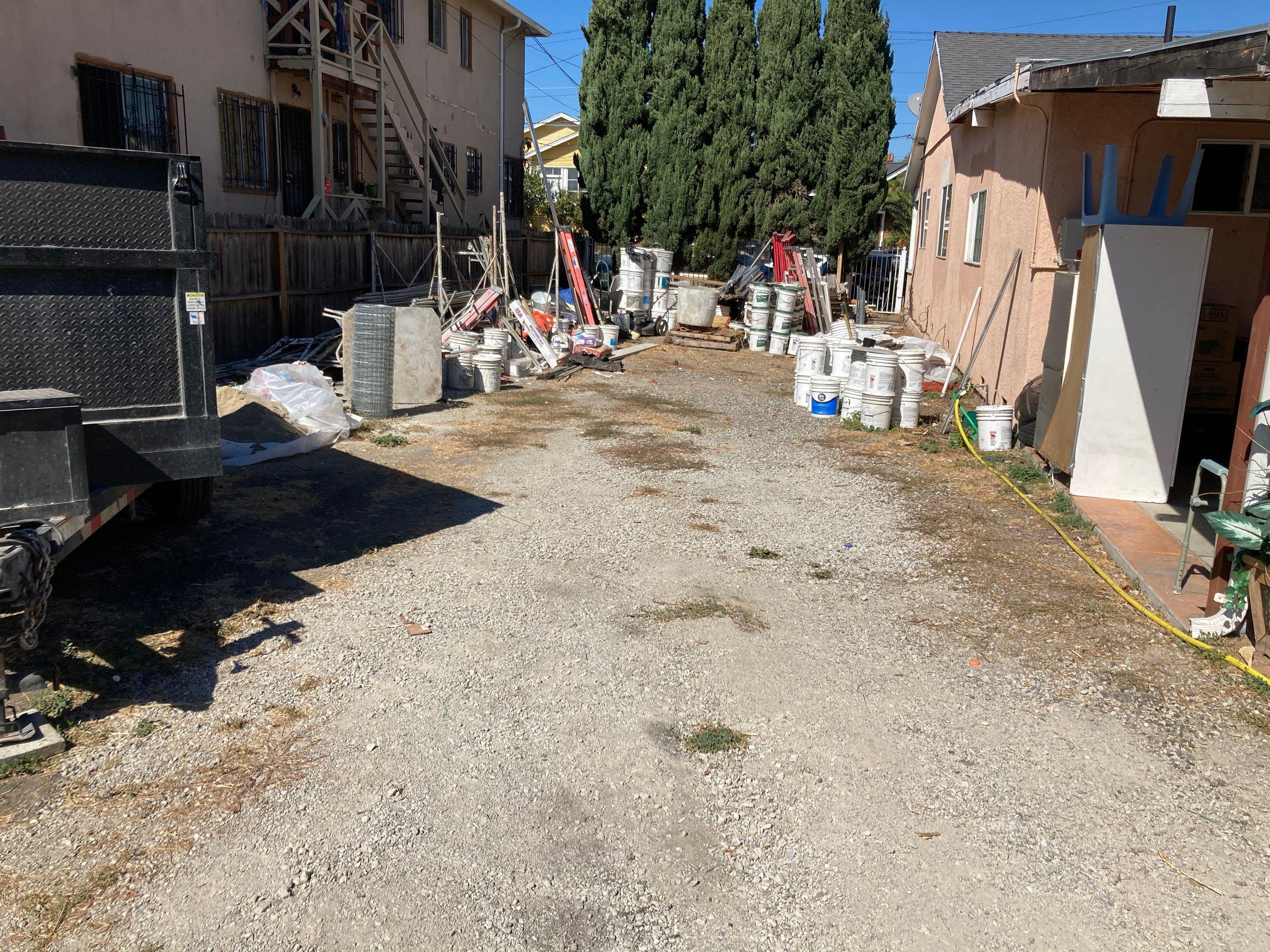 35x90 Parking Lot self storage unit