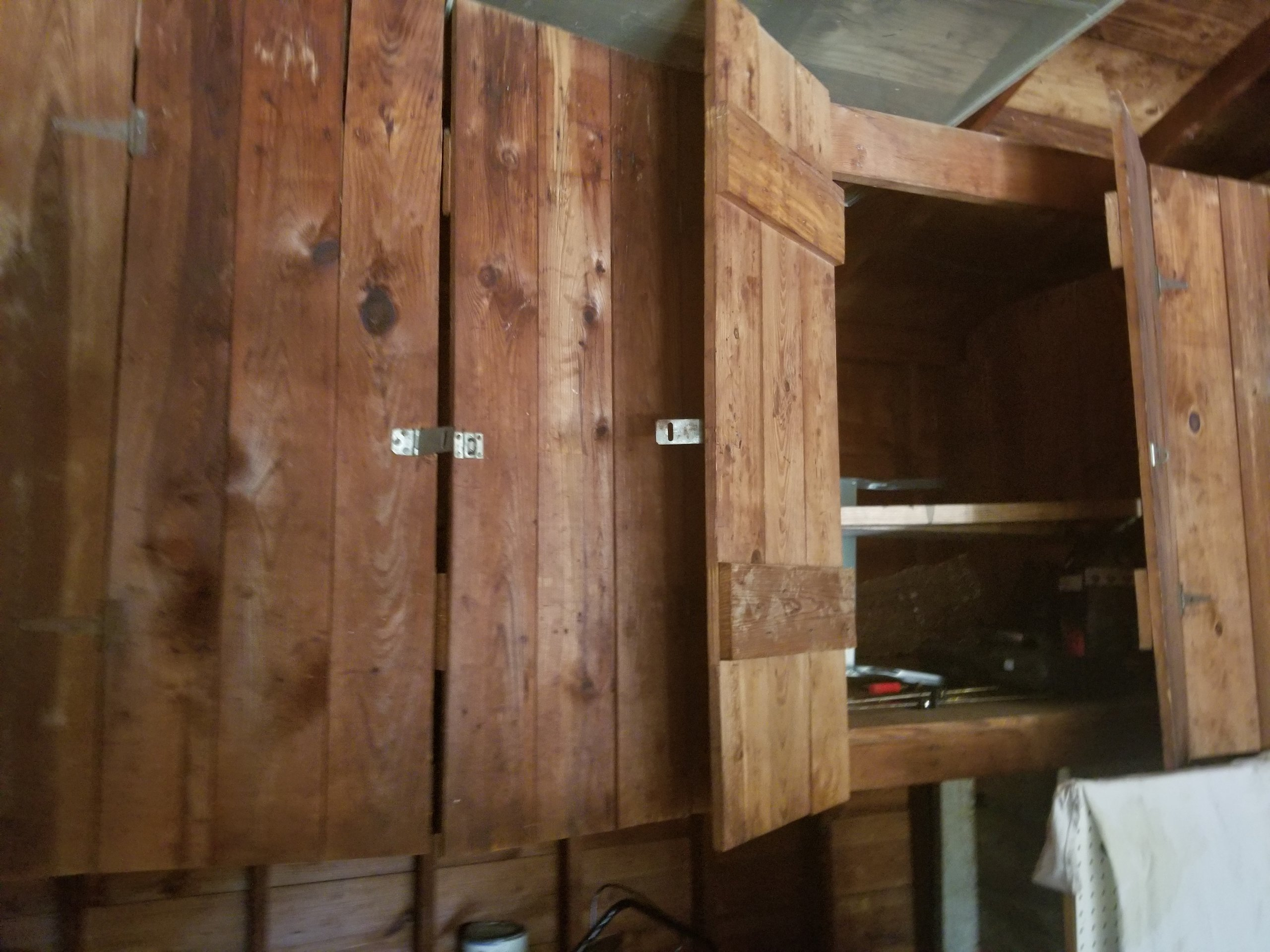 9x4 Attic self storage unit