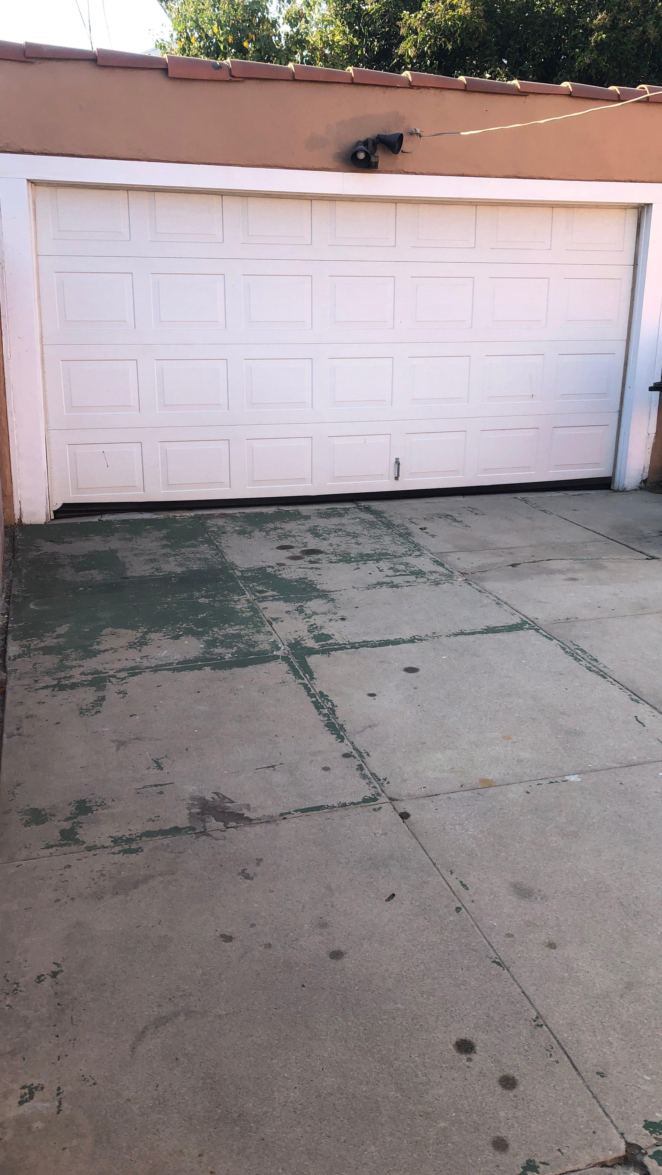 14x7 Garage self storage unit