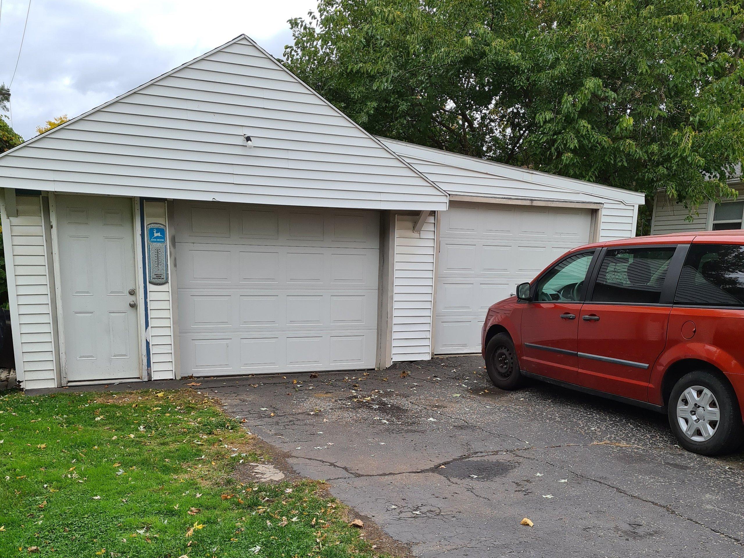 14x14 Garage self storage unit