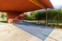 22x10 Carport self storage unit
