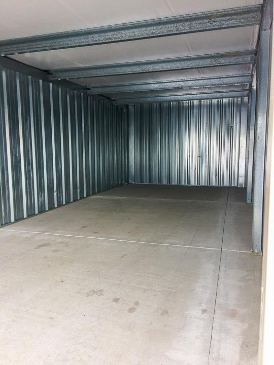 30x12 Storage Facility self storage unit
