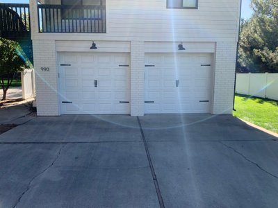 22x22 Garage self storage unit