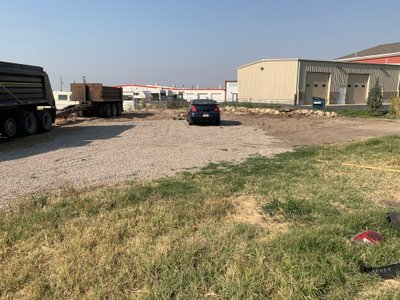 45x14 Unpaved Lot self storage unit