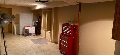 30x12 Basement self storage unit