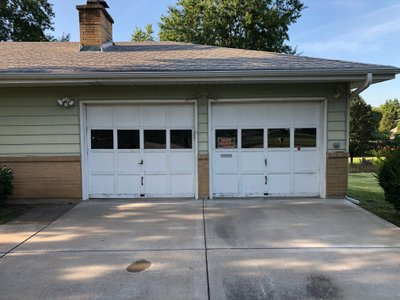 15x8 Garage self storage unit