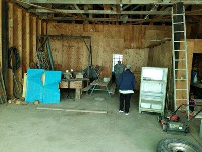 104x27 Shed self storage unit