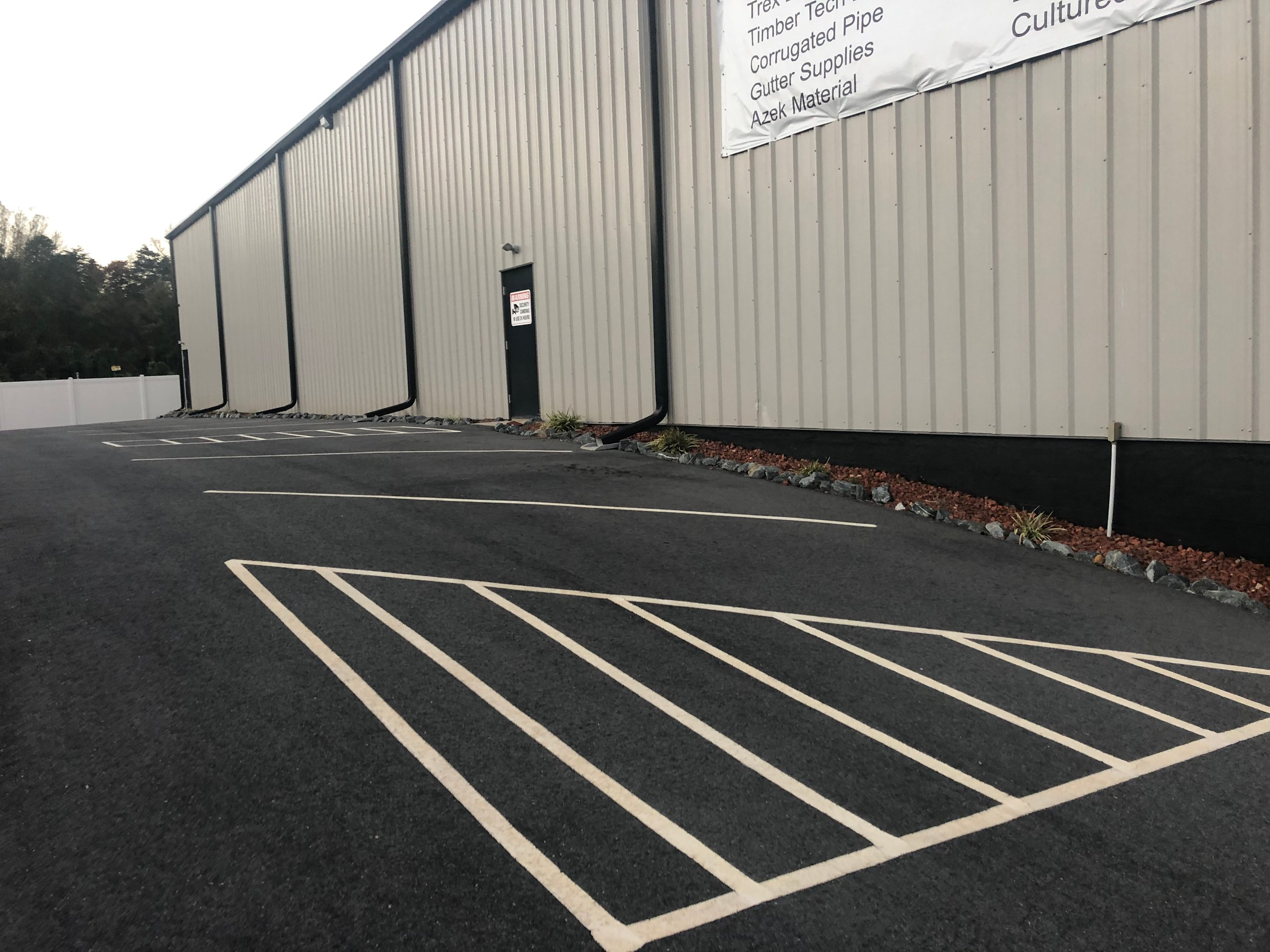 16x10 Parking Lot self storage unit