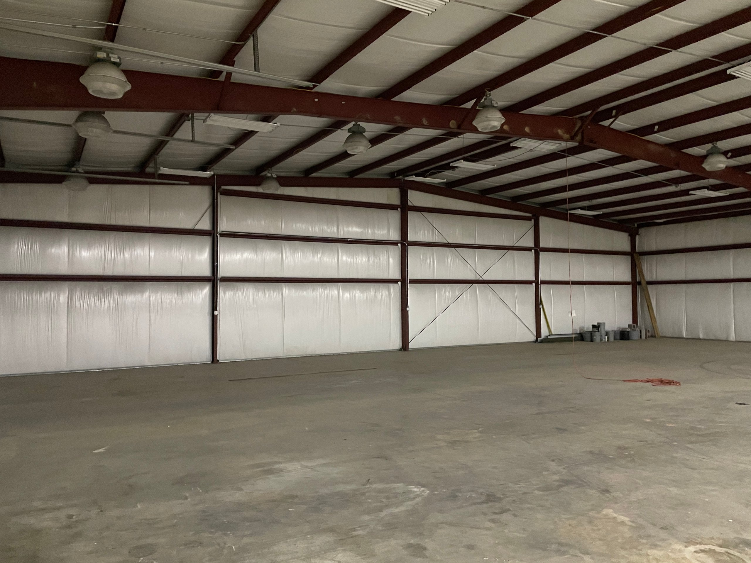 120x80 Warehouse self storage unit