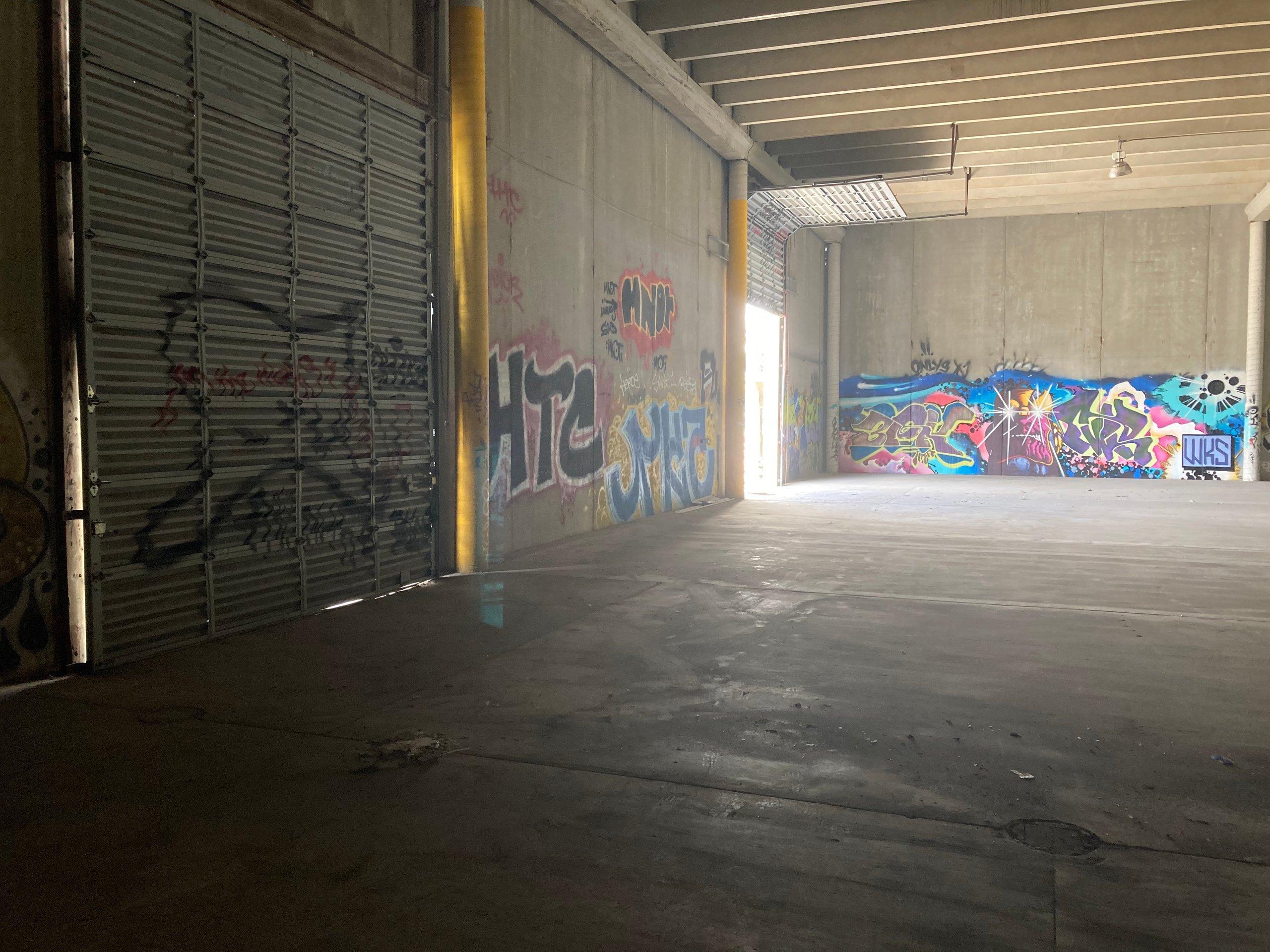103x103 Warehouse self storage unit